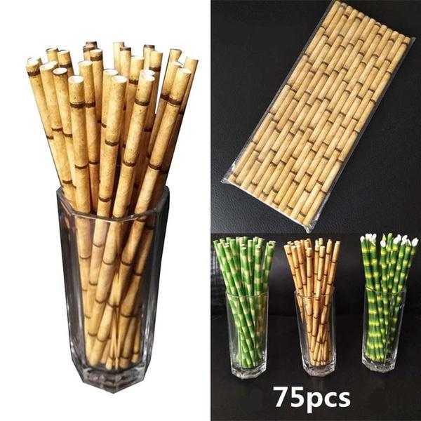 paperstraw, biodegradable, Fashion, straw