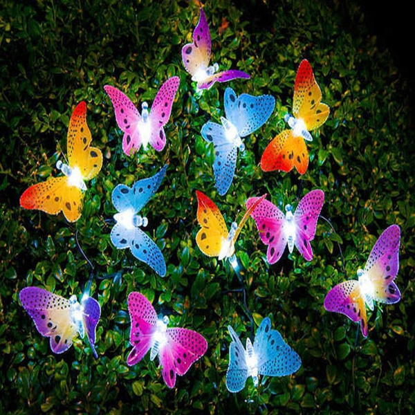 butterfly, dragon fly, Outdoor, led