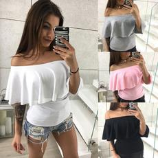 blouse, Summer, Fashion, ruffled