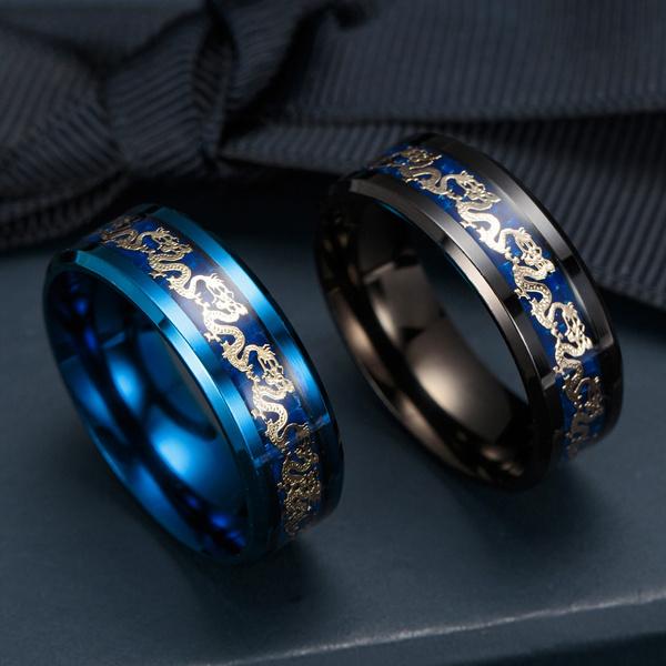 Steel, Blues, Fashion, wedding ring