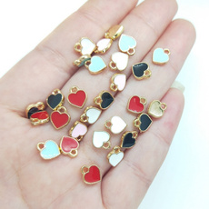 Heart, Fashion, Jewelry, 8MM