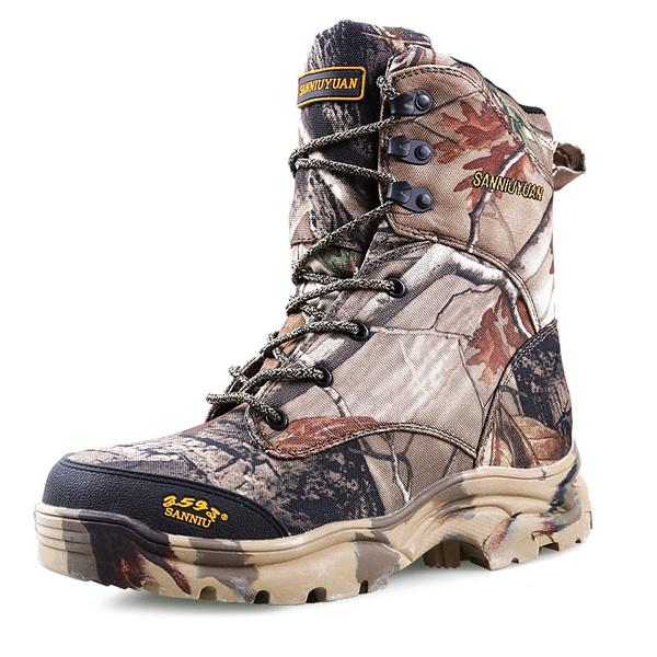 Jamickiki Men Desert Combat Boots