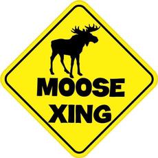 Car Sticker, moose, Stickers, wildlife