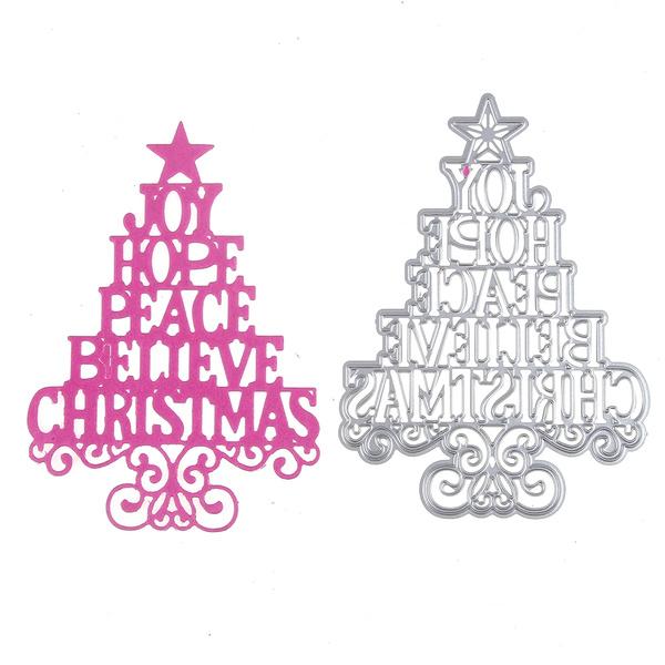 Christmas Three Mice Metal Cutting Dies Embossing Stencil Scrapbooking Card DIY.