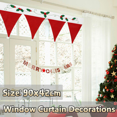party, christmascurtain, Home Decor, Home & Living