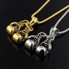 Steel, yellow gold, Stainless Steel, Jewelry