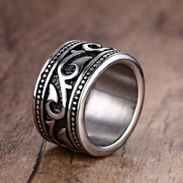 Steel, ringsformen, Fashion, titanium
