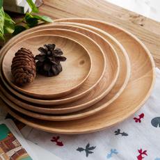 party, Wooden, walnutwoodplate, bandeja