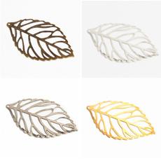 leaves, Jewelry, Jewelry Making, Metal