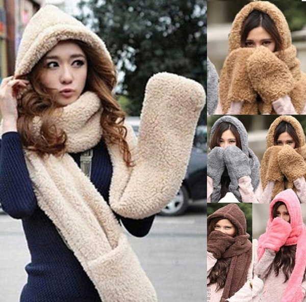 snoodscarf, Fleece, Fashion, Winter