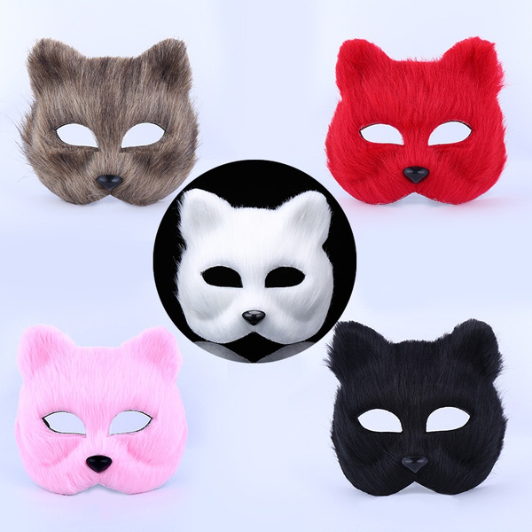 ghost, animalfacemask, Fox, halloweencosplaymask