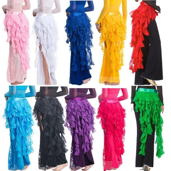 bellydancecostumecase, Fashion, skirts female, Chain