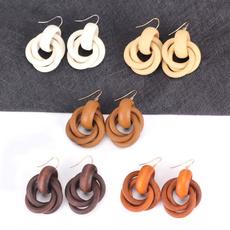 ethnicearring, Punk jewelry, Dangle Earring, woodenearring