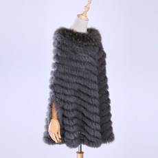 knitted, shawl and wraps, Women's Fashion & Accessories, Knitting