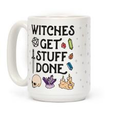 witchmug, Ceramic, crystallove, crystalwitch