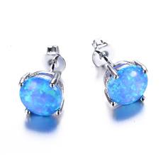 Blues, cute, Stud, Jewelry