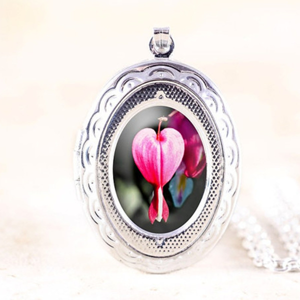 pink, Heart, heartheartlocket, Flowers