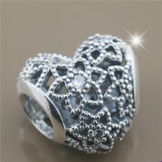 Sterling, Heart, Jewelry, Bracelet