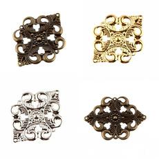 Flowers, Jewelry, Jewelry Making, Metal