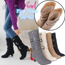 tallboot, Plus Size, Leather Boots, Winter