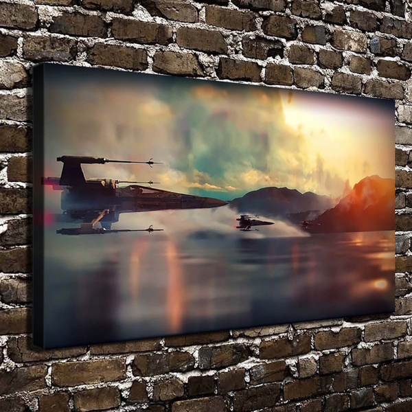 bedroom, Geek, canvasprint, Wall Art