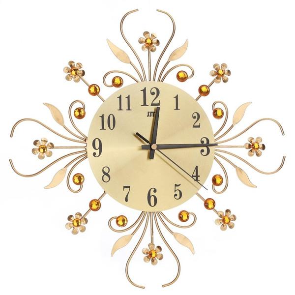Decor, 3dfloral, Home Decor, Clock