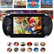 handheld game console with built in games