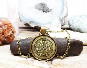 glassartjewelry, Jewelry, Angel, giftglassnecklace