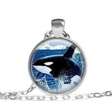 glassartjewelry, Jewelry, giftglassnecklace, Animal