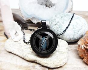 glassartjewelry, archangel, Jewelry, Angel
