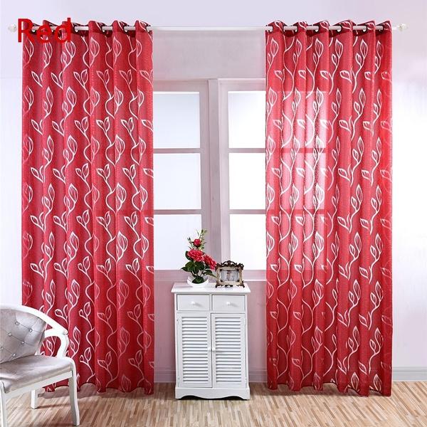bedroomcurtain, leaves, kidsroomcurtain, Home Decor