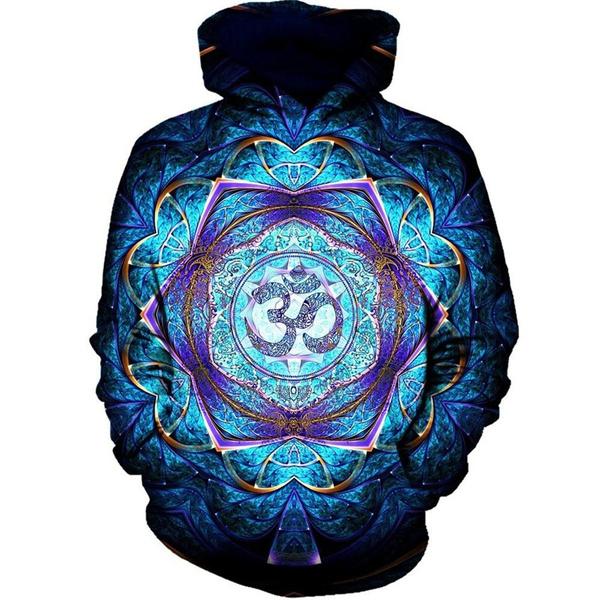 Blues, 3D hoodies, Fashion, stylishandcomfortable