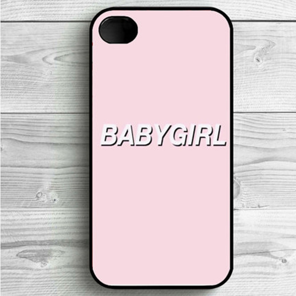 pink BABYGIRL Tumblr Case for iPhone SE 5 6 6s 7 7 Plus Cover Samsung Galaxy S7/S6/S8/S5 Phone Cases | Wish