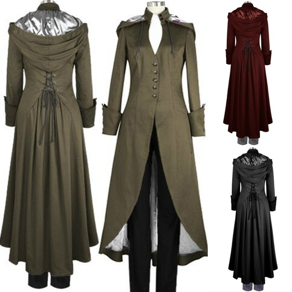 gothic clothing, Coat, victorian, Winter Warm