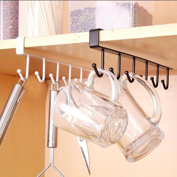 Ma Kitchen Storage Rack Cupboard, Kitchen Cabinet Hanging Rack