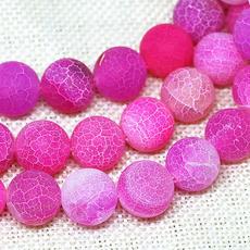pink, 8MM, Jewelry, weathered
