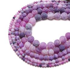 Jewelry, weathered, purple, naturalstone