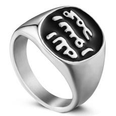 Steel, ringsformen, Fashion, allahmuslim