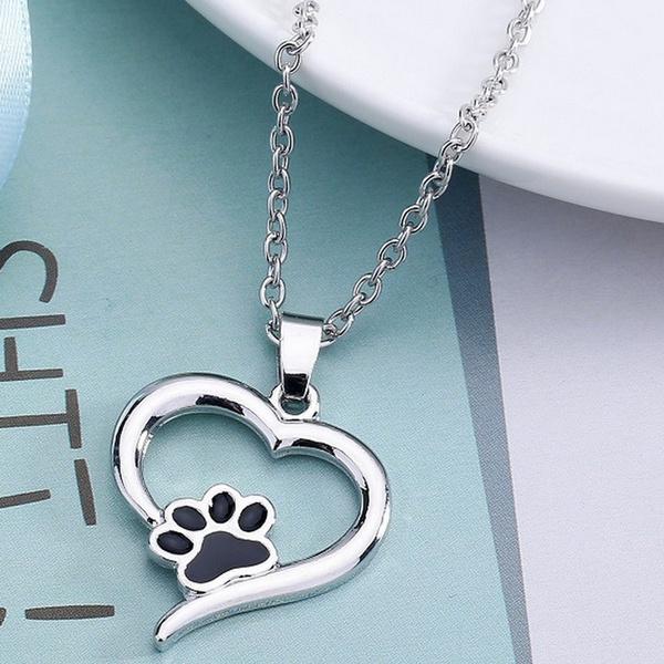 Fashion, Jewelry, Pets, heart necklace