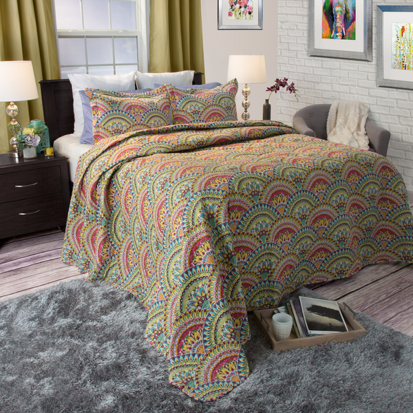 victorian, Colorful, categorylevel1homedecor, quilted