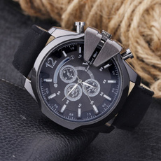 Fashion, leather strap, leather, Watch