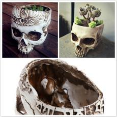 Mini, Head, Flowers, Skeleton