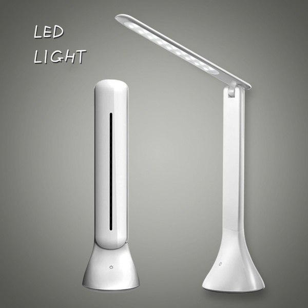 Led Desk Lamp Dimmable Touch Book Light, Folding Desk Lamp Dimmable