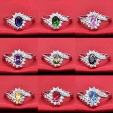 Sterling, Wedding, DIAMOND, 925 sterling silver