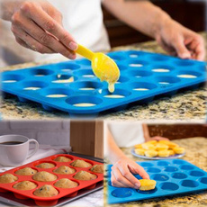 Kitchen & Dining, Baking, Cup, Silicone