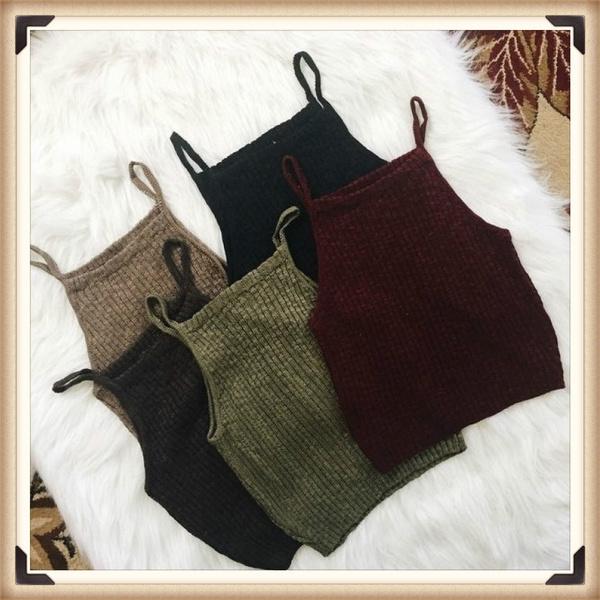 Vest, Fashion, crop top, Halter