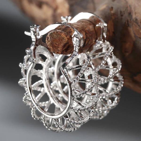 Sterling, 925 sterling silver, Silver Earrings, Stud Earring