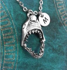 Shark, Jewelry, sharknecklace, Custom