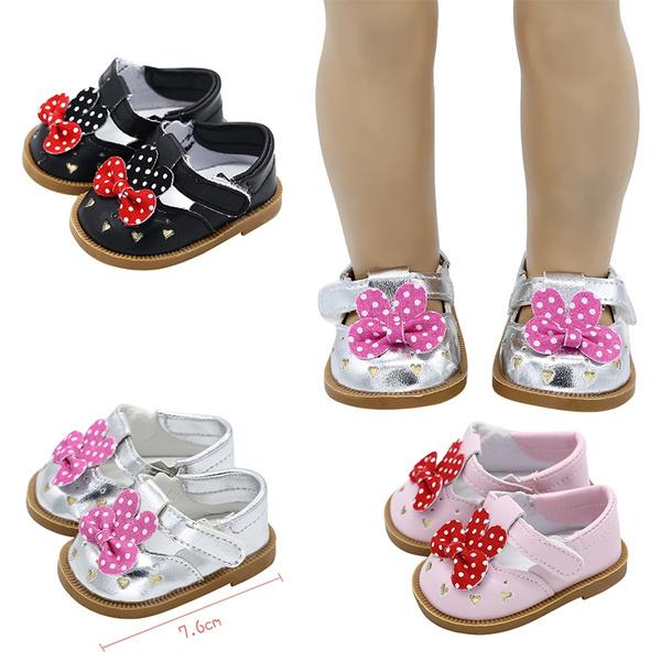 18inchdoll, leather shoes, doll, dollshoe