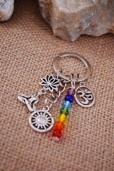 Keys, rainbow, Yoga, Jewelry